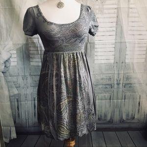 Julie's Closet Ladies Short sleeves bubble dress